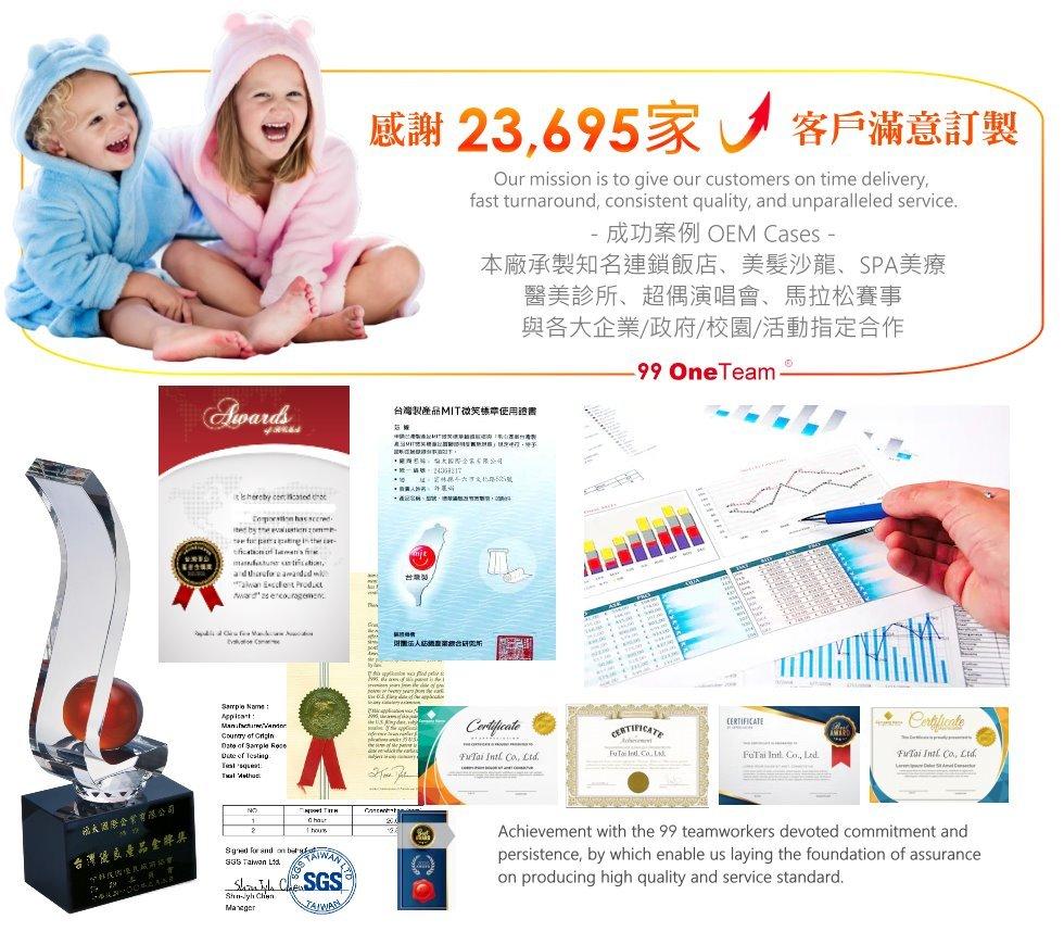 小孩穿訂製的毛巾-客製化毛巾設計獎