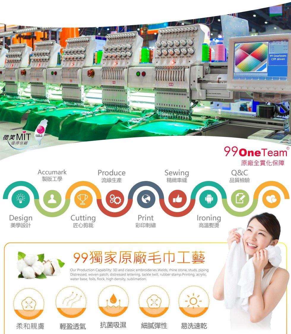 客製化毛巾印字-毛巾工廠設備-毛巾品質保障