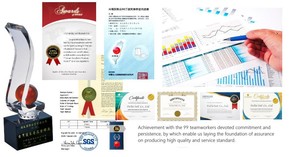 做背心工廠獲得金牌獎-ISO認證-CNS認證證書-經濟部標章